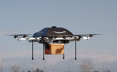 Amazon CEO Jeff Bezos announced his plan to use unmanned drones to make deliveries. The plan could take years to come to fruition, however, due to technological limitations and federal regulations.