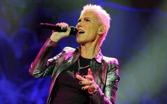 Roxette's  Marie Fredriksson performs on stage during a concert in Zurich, Switzerland, Monday, Oct. 31, 2011.
