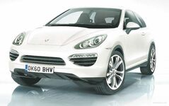 Porsche will introduce the diesel-powered Cajun compact SUV for the 2014 model year.