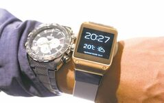 Below, the highly anticipated digital Samsung  Galaxy Gear wristwatch (right) and a regular watch. The so-called smartwatch is what some technology analysts believe could become this year�s  must-have holiday gift.
