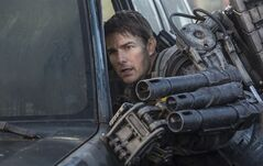 This image released by Warner Bros. Pictures shows Tom Cruise in a scene from
