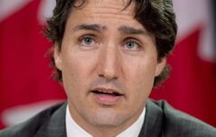 Liberal leader Justin Trudeau is shown during a news conference Wednesday June 11, 2014 in Ottawa. Trudeau doesn't put much stock in public opinion surveys that suggest the federal Liberal party vaulted into the lead once he took the helm 16 months ago and has stayed on top ever since. THE CANADIAN PRESS/Adrian Wyld