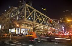 The 64-year-old Port Authority bus terminal, seen in a Friiday, July 25, 2014 photo and used by both commuters from New Jersey and travelers from the rest of the country, has received millions in funding for new repairs, in New York. (AP Photo/Bebeto Matthews)