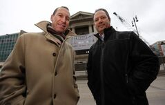 Urban Capital's David Wex (left) and Longboat's Doug McKay are teaming up on the project.