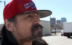 Darrell Felix was homeless in 2012.