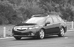 The 2011 Acura TSX Sport Wagon.