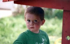 The Elk Valley RCMP is currently searching for 3-year-old Kienan Hebert of Sparwood BC, pictured, reported missing from the family home the morning of Wednesday September 7, 2011. THE CANADIAN PRESS/ HO RCMP