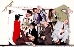 Austria's Mnozil Brass ensemble has been called the 'Monty Python of music.'