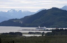 The view looking down the Douglas Channel from Kitimat, B.C. Tuesday, June, 17, 2014. THE CANADIAN PRESS/Jonathan Hayward