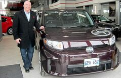 Local radio personality and former Blue Bomber Troy Westwood loves his Scion.