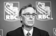 RBC CEO Gord Nixon speaks in Calgary on Feb. 28.