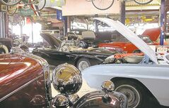 CNS-AUTO-REINCARNATION--BRANTFORD, ON.-- UNDATED -- Inside the Guild of Automotive Restorers in Brantford, Ont. (David Grainger/National Post) FOR CNS AUTO PACKAGE, MAY 10, 2010
