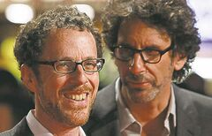 Ethan (left) and Joel Coen.