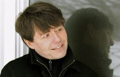Michael Crummey is shown is this undated handout photo. While on a 10-day trip circumnavigating his native Newfoundland, best-selling novelist and poet Crummey encountered first-hand entire coastal towns considering packing up and moving to greener pastures. THE CANADIAN PRESS/HO-Arielle Hogan