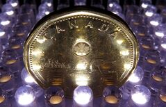 A loonie is pictured in North Vancouver, in April, 2014. THE CANADIAN PRESS/Jonathan Hayward