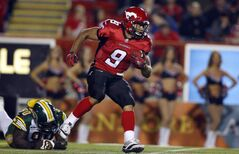 Calgary running back Jon Cornish is the top-rated Canadian in the CFL.