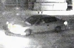 The vehicle caught by surveillance camera police used in investigation into rape of an 11-year-old girl