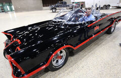 Free Press reporter Geoff Kirbyson's dream came true Wednesday — he got a closeup look at the Batmobile.