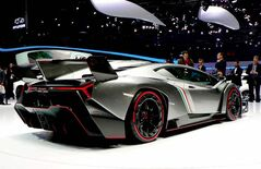 The new Lamborghini Veneno super sports car is heavily based on the Aventador LP 700-4.