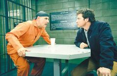 Jeffrey Tambor, left, and Jason Bateman in a scene from Fox's comedy Arrested Development.