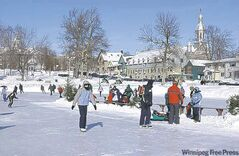 TERREBONNE, Que. -- DEC. 27, 2011 -- Skating at the Carnaval Glisse et Glace in Terrebonne, Que. (Photo courtesy) FOR POSTMEDIA NEWS TRAVEL PACKAGE, JAN. 23, 2012