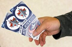 Going from a looming food crisis to a flap about NHL freebies is a jarring transition.