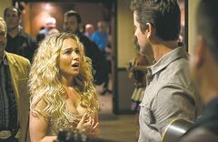 Hayden Panettiere and Charles Esten in Nashville.
