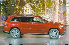 The Jeep Grand Cherokee diesel made its long-awaited debut.