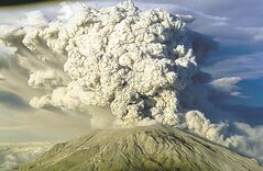 Mount St. Helen�s erupts in this July 22, 1980 file photo in Washington State.