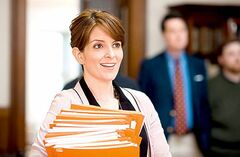 This film image released by Focus Features shows Tina Fey in a scene from