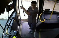 A 50-year-old bus driver was assaulted on Sept. 14 around 12:30 p.m. after a man got on the bus at William Avenue and Isabel Street