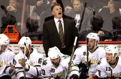 Marc Crawford, seen as the Dallas Stars' head coach, may have a little history working against him with True North, but he has one thing on his side many candidates don't: he's available.