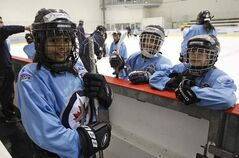 The Winnipeg Jets Hockey Academy gives kids who might not otherwise have an opportunity the chance to try hockey.