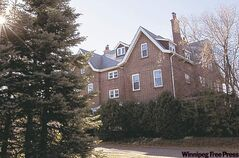 Wellington Crescent mansion is $39,000 in arrears.