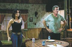 Gina Gershon and Thomas Haden Church.