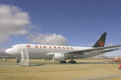 The Air Canada 767 that glided into the Gimli airstrip in 1983 is up for auction.