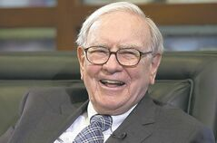 Nati Harnik / The Associated Press archives Warren Buffett: 'I pursued a couple of elephants but came up empty-handed.'