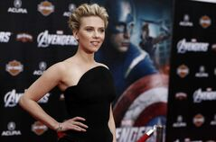 Cast member Scarlett Johansson arrives at the premiere of
