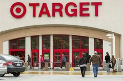 FILE -- In this Dec. 19, 2013 file photo, shoppers arrive at a Target store in Los Angeles on Thursday, Dec. 19, 2013. Target reports quarterly financial results on Wednesday, May 21, 2014. (AP Photo/Damian Dovarganes, File)