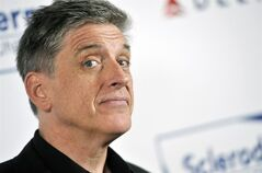 FILE - In this April 30, 2013, file photo, comedian Craig Ferguson poses at the Cool Comedy's Hot Cuisine Benefit for the Scleroderma Research Foundation at the Four Seasons Hotel in Beverly Hills, Calif. Ferguson will host a new syndicated game show,