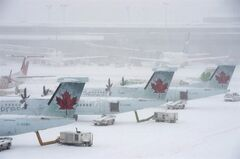 Pearson Airport in Toronto is shown on February 8, 2013. THE CANADIAN PRESS/ Frank Gunn