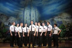 The Book of Mormon First National Tour Company is shown in a handout photo.THE CANADIAN PRESS/HO-Mirvish Productions-Joan Marcus