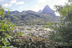 St. Lucia is instantly recognizable by the Pitons towering over the village of Soufriere at the southern end of the island. They were formed by volcanic eruptions and there are still sulphur pools and bubbling mud baths nearby.