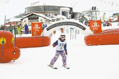 Torontonian Julia Mallen, 7, competes in the �races� at the Skischule Serfaus.
