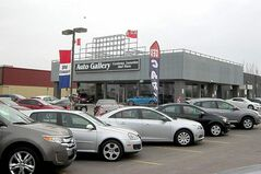 Auto Gallery's new customizing and luxury-vehicle centre on Portage Avenue.