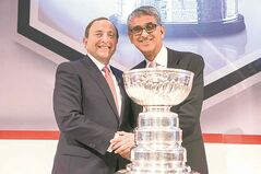 The 2014-'15 NHL season will be the first of the league's new $5.2-billion, 12-year television deal with Rogers Communications.