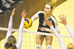 University of Manitoba Bisons volleyball player Rachel Cockrell says defeating the T-Birds requires acknowledging UBC can be beaten.