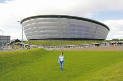 The Hydro, named after sponsor Scottish Hydro, is the new 12,000-seat arena that will be used for gymnastics at the Glasgow Commonwealth Games.