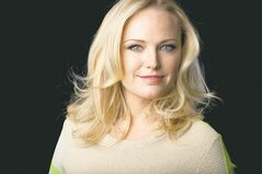 Actress Malin Akerman in New York starred in the ABC series Trophy Wife.