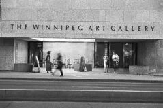 SUBMITTED PHOTO The MCW Group did most of the design work on the Winnipeg Art Gallery, one of the city's most easily identifiable buildings.